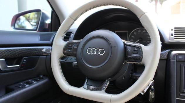oCarbon Flat Bottom CF Steering Wheel Trim