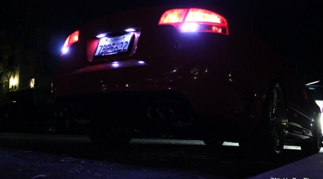 B7 Audi A4/S4/RS4 Reverse LED Lights DIY