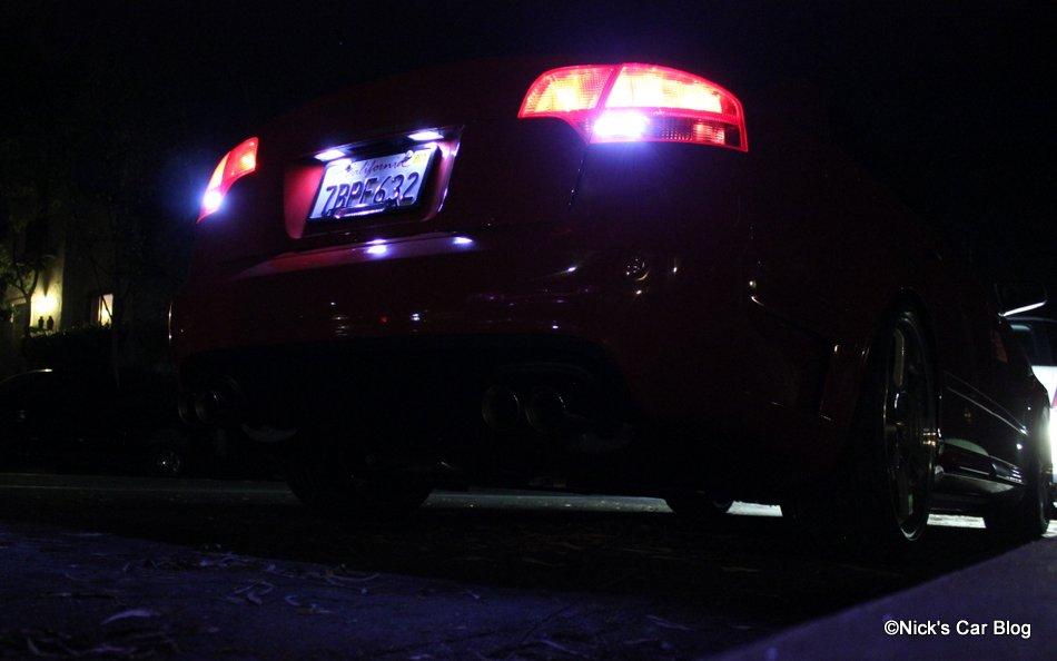 B7 Audi A4/S4/RS4 Reverse LED Lights DIY – Nick's Car Blog