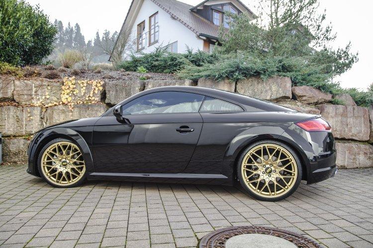 A3 Vs Serie 1 >> 2016 Audi TT on KW Coilovers & Gold BBS Wheels – Nick's Car Blog