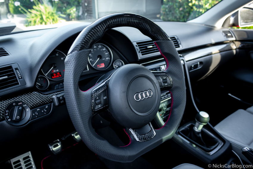 Carbon Fiber R8 Flat Bottom Steering Wheel From Dctms Nick S Car