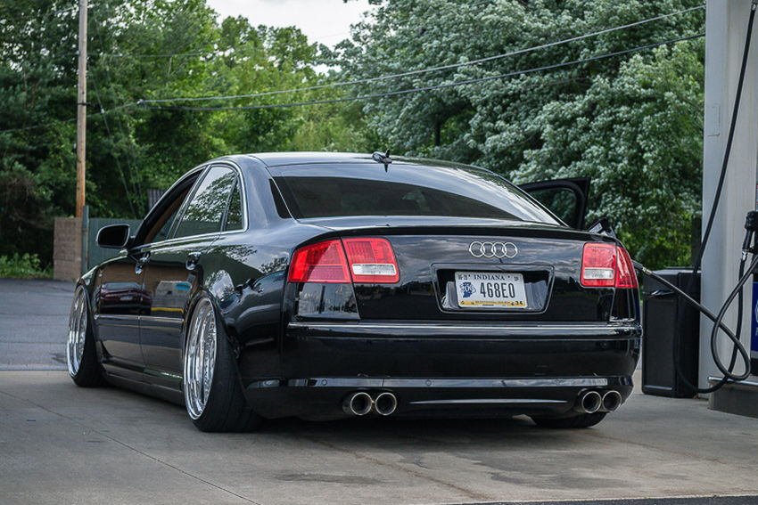 Bagged D3 Audi A8 On Oz Futura Wheels Nick S Car Blog