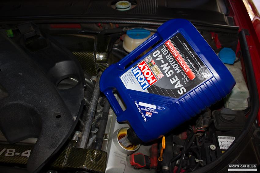 B6 B7 Audi S4 Oil Change Diy Nick S Car Blog