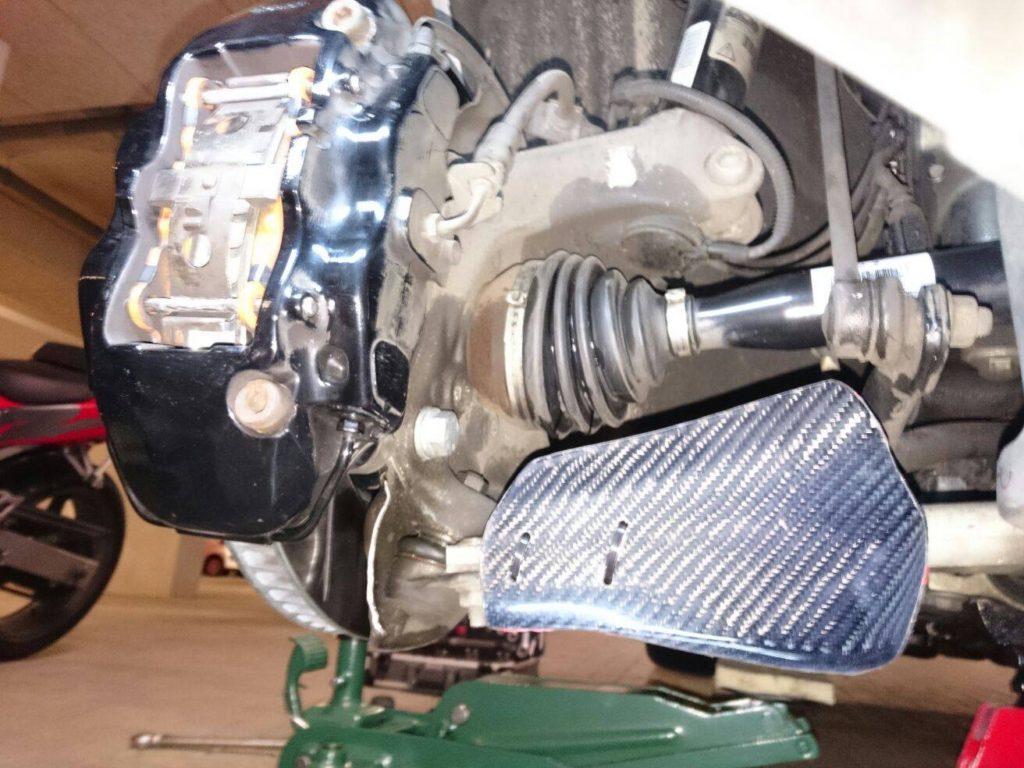 Audi TT-RS Carbon Fiber Brake Ducts – Nick's Car Blog