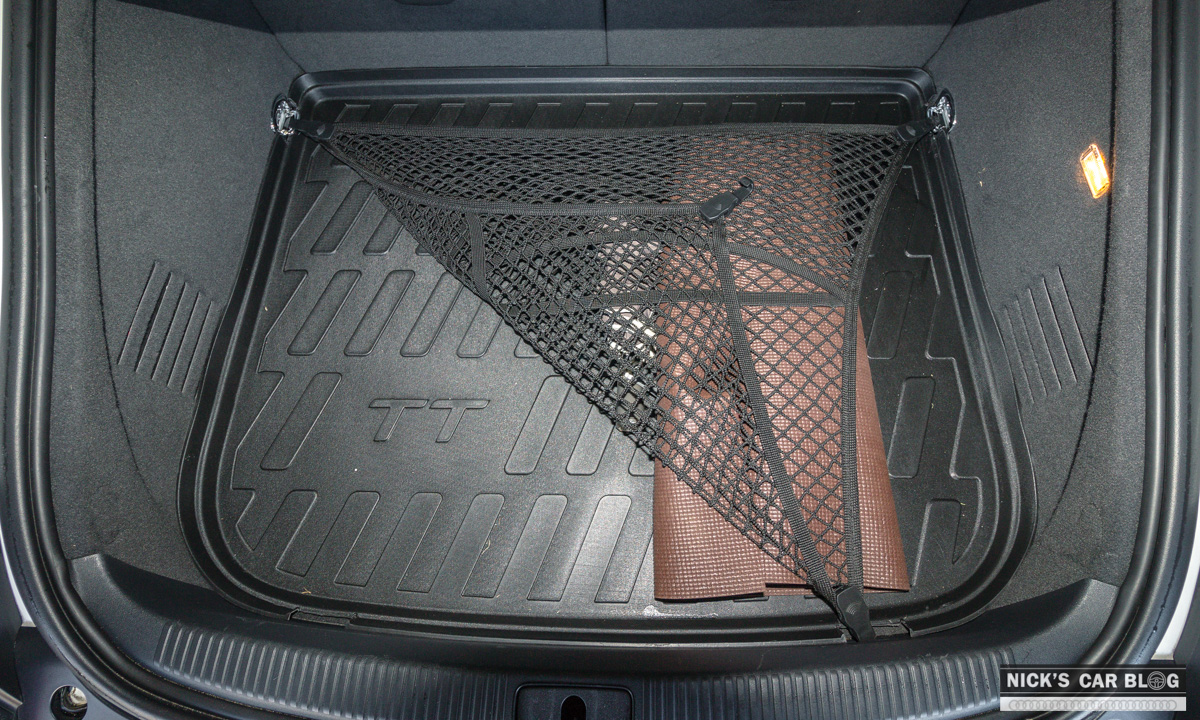 OEM Audi TT Rubber Trunk (Cargo) Liner – Nick's Car Blog