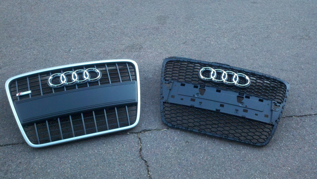 B7 Audi Rs4 Grilles Pictures Where To Buy Nicks Car Blog