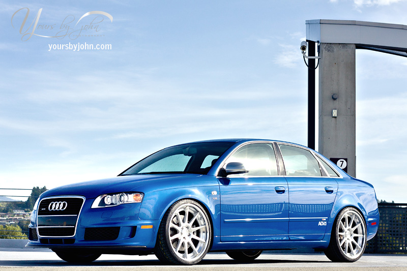 Featured Ride: B7 Audi S4 DTM on 20″ ADV.1s – Nick's Car Blog