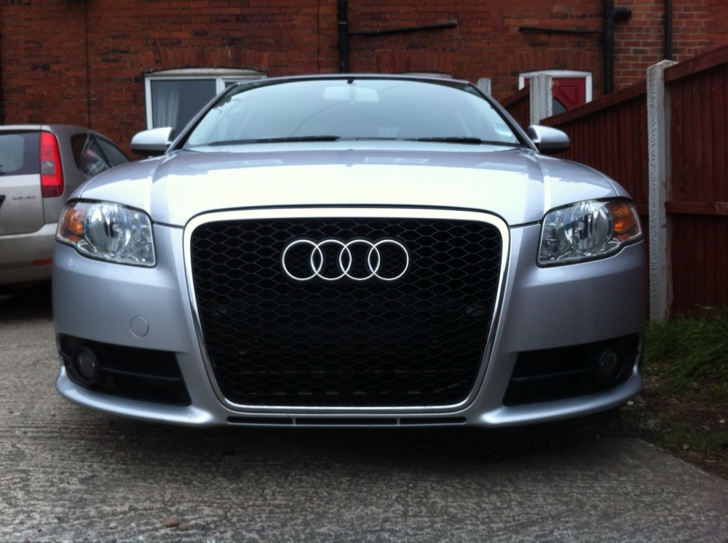 How To Fit An Rs6 Grille On A B7 A4 S4 Or Rs4 All Mesh