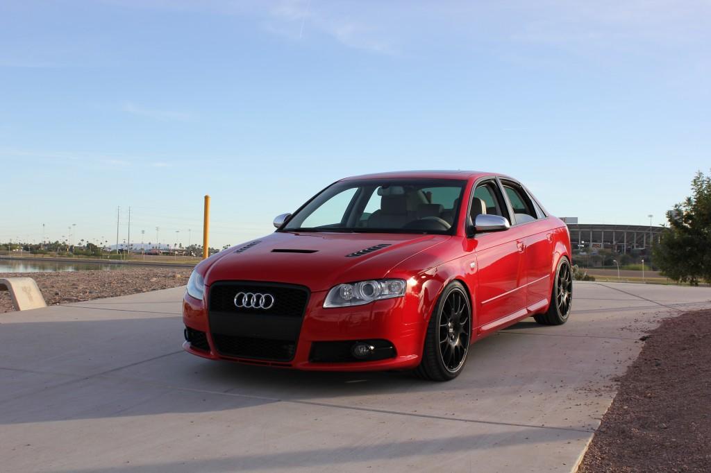 B7 Audi S4 Carbon Fiber Hood (Vented) by Aerofunction ...