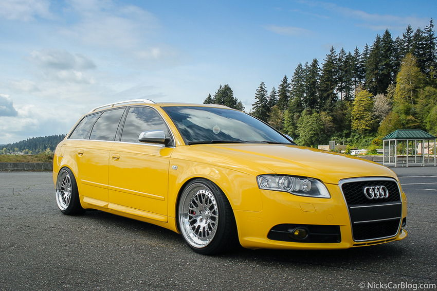 Cassie S Imola Yellow B7 Audi S4 Avant Nick S Car Blog